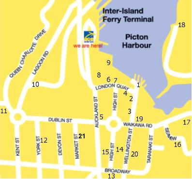 Picton Detailed Map Map Of Picton Street Map And Picton